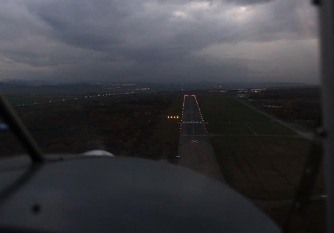 Rundflug über Thüringen bei Schnee